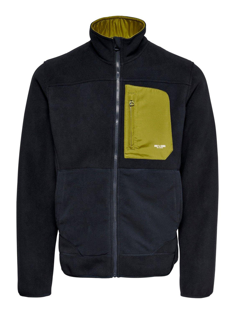 Only & Sons Hike - Fleece jakke (4818711150671)