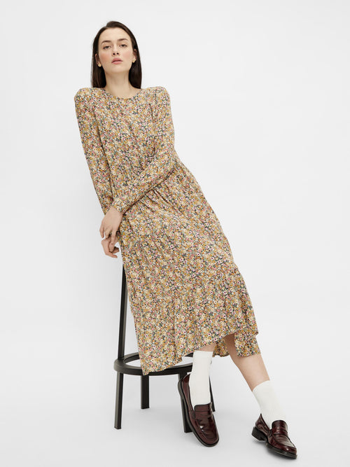pcGry LS Midi Dress (4871028015183)
