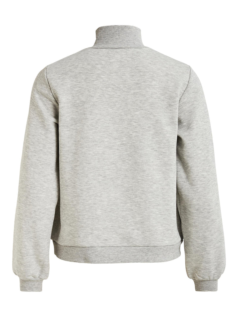 Vipera L/S Zipper Sweat Top (4861882433615)