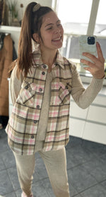 onlLippa Checked Vest (4866996174927)