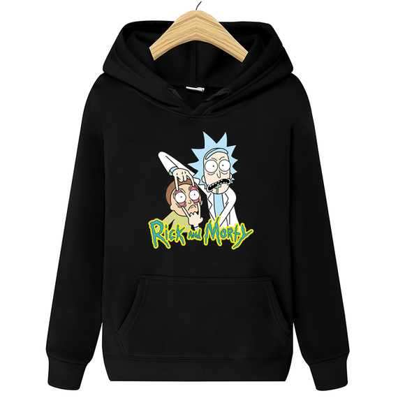 2020 new Rick Morty hoodie men's skateboard Rick Morty cotton hooded sweatshirt men's and women's hooded pullover - Ozone Bay