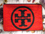 Repurposed Tory Burch Boho Clutch