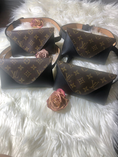 Upcycled LV Fanny Pack