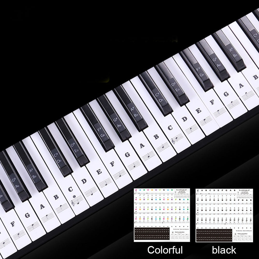 EasyKey - Removable Piano Key Stickers