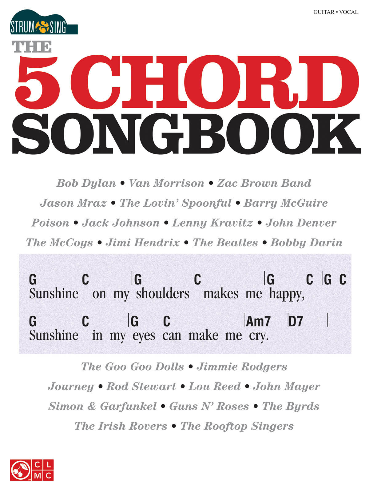 Strum Sing The 5 Chord Guitar Songbook Prodigy Playhouse