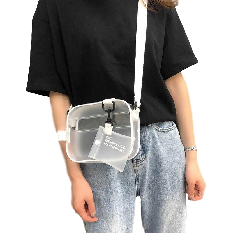 Bubbly - Casual Transparent Bag
