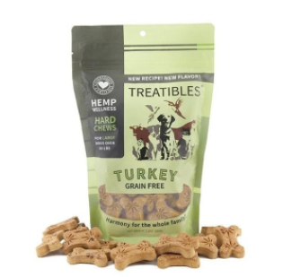 Treatibles – Grain Free – Hard Chews – Large Dog – Turkey