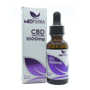 Medterra Isolate Tincture - 1000mg
