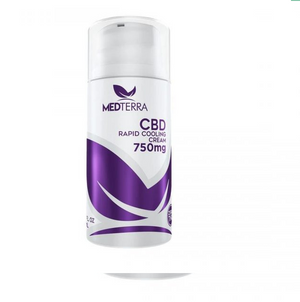 Medterra Isolate Topical Cream 750mg