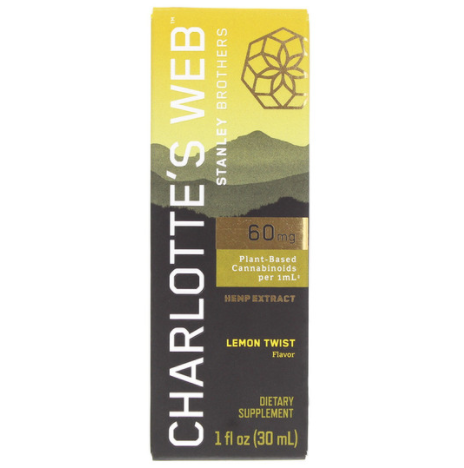 Charlotte's Web 60 mg Hemp Extract