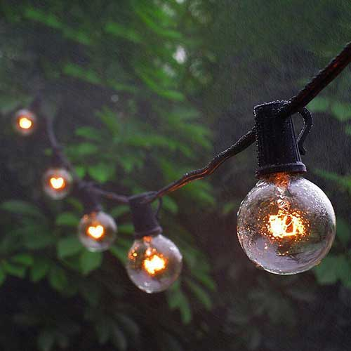 50% OFF Labor Day - Outdoor String Light G40 Globe Patio Lights