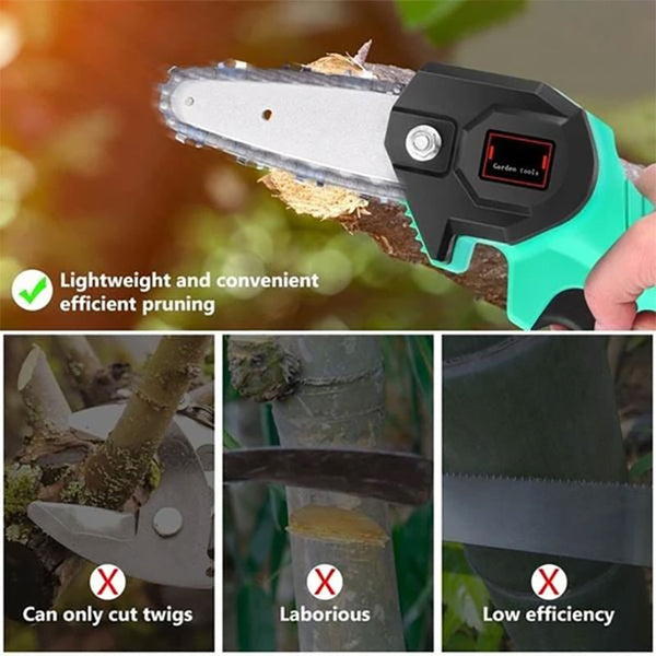Christmas Pre-Sale 50%OFF🎅24V Wireless Mini Electric Chainsaw