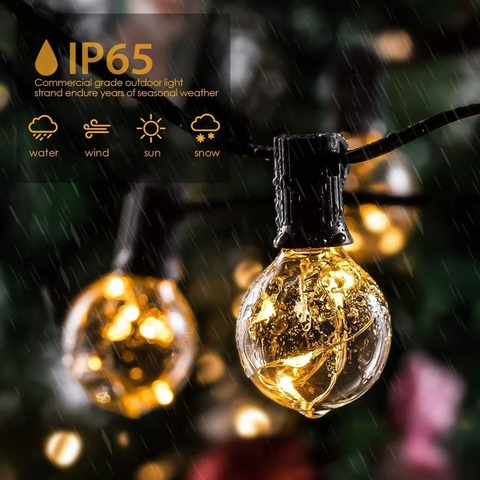 SOLAR POWERED LED OUTDOOR STRING LIGHTS-BUY 3 FREE SHIPPING
