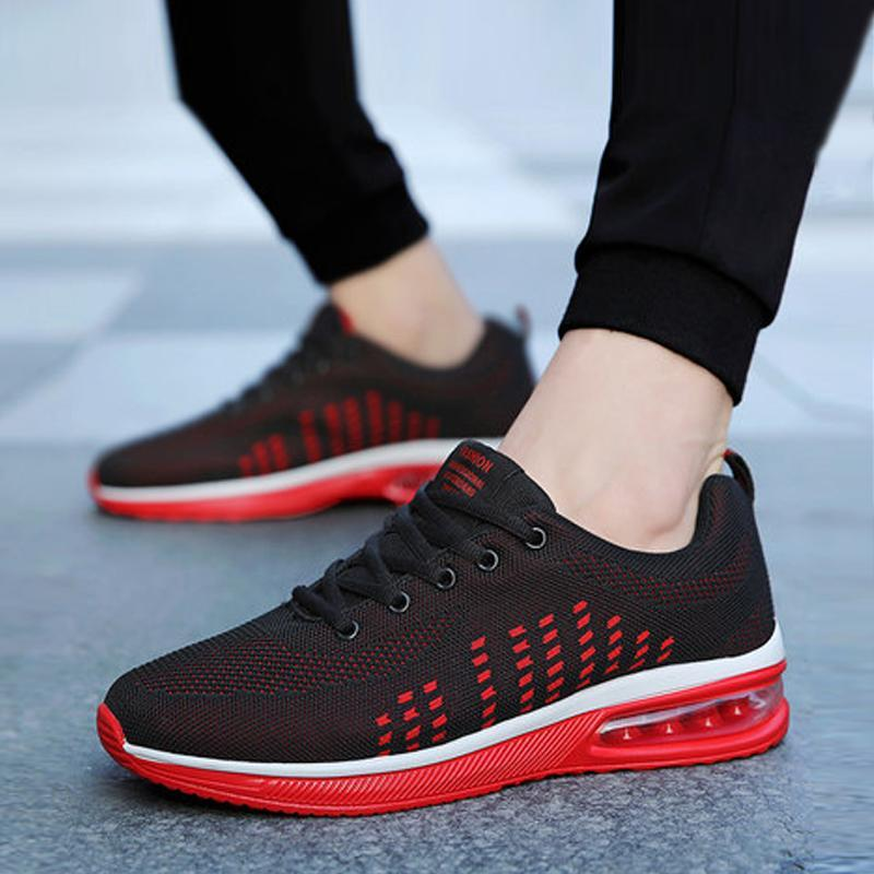 Mesh Lace Up Air Max Men's Sneakers