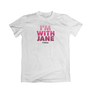 Unisex I'm With Jane Tee - Pink