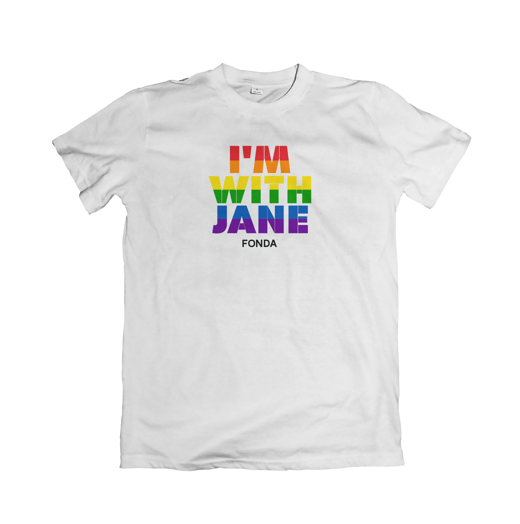 Unisex I'm With Jane Tee - Rainbow