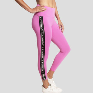 Jane Fonda Pink Workout Pant