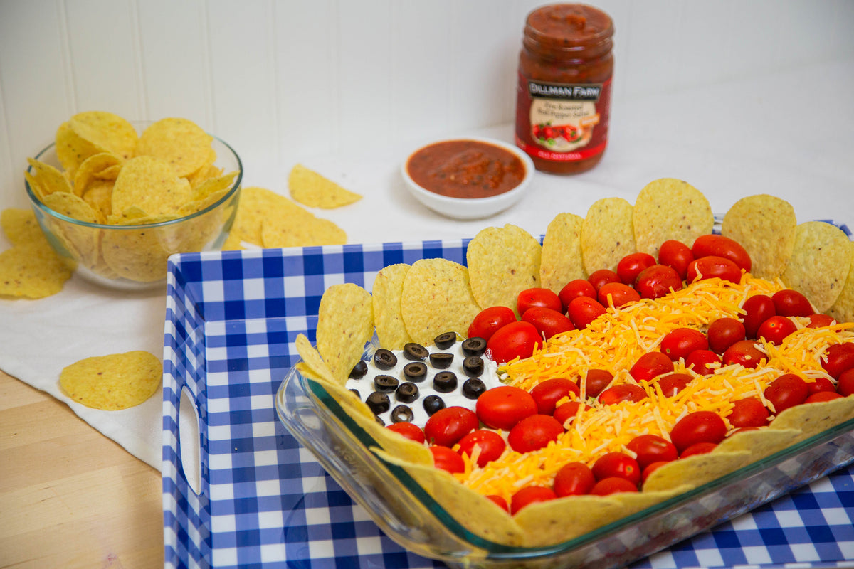 4th of July Taco Dip