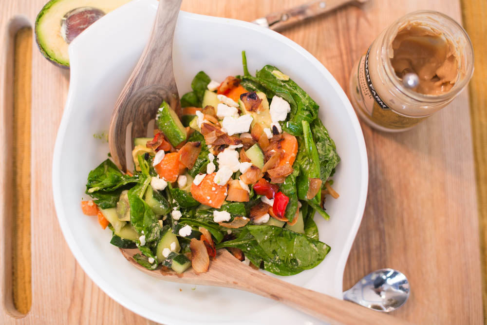 Summer Salad with Horseradish Mustard
