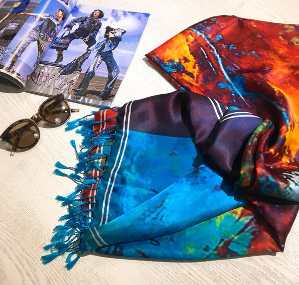 100% Mulberry Silk Scarf - Toan Thinh Silk, LLC