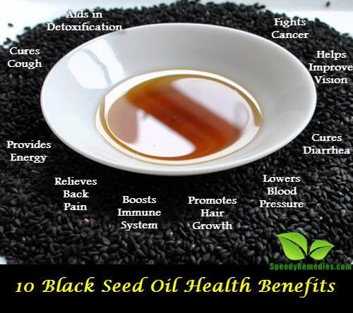 10 Black Seed Oil Benefits
