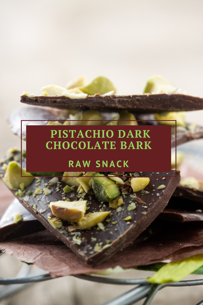 Pistachio Dark Chocolate Bark