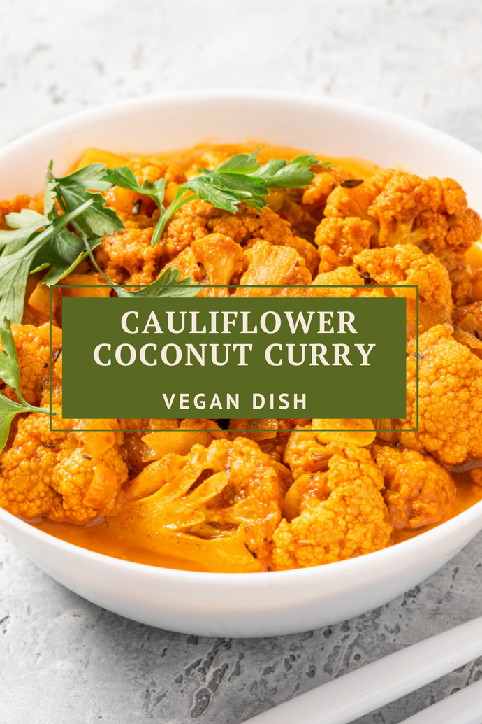 Cauliflower Coconut Curry