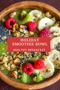 Holiday Smoothie Bowl