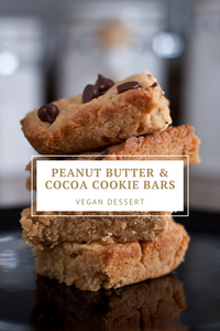 Peanut Butter & Cocoa Cookie Bars
