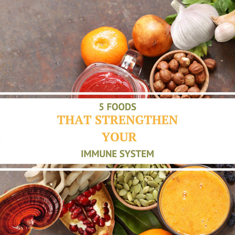 5 foods that strengthen your immune system