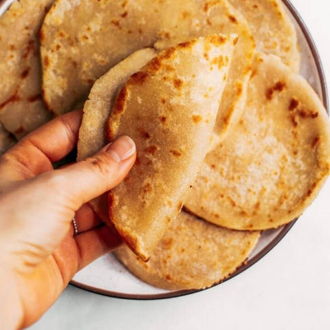 cauliflower paleo tortilla