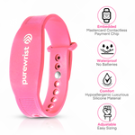 Purewrist GO Bracelet Bundle Pink (Includes $25 Preloaded Money)