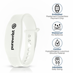 Purewrist GO Bracelet Bundle White (Includes $25 Preloaded Money)