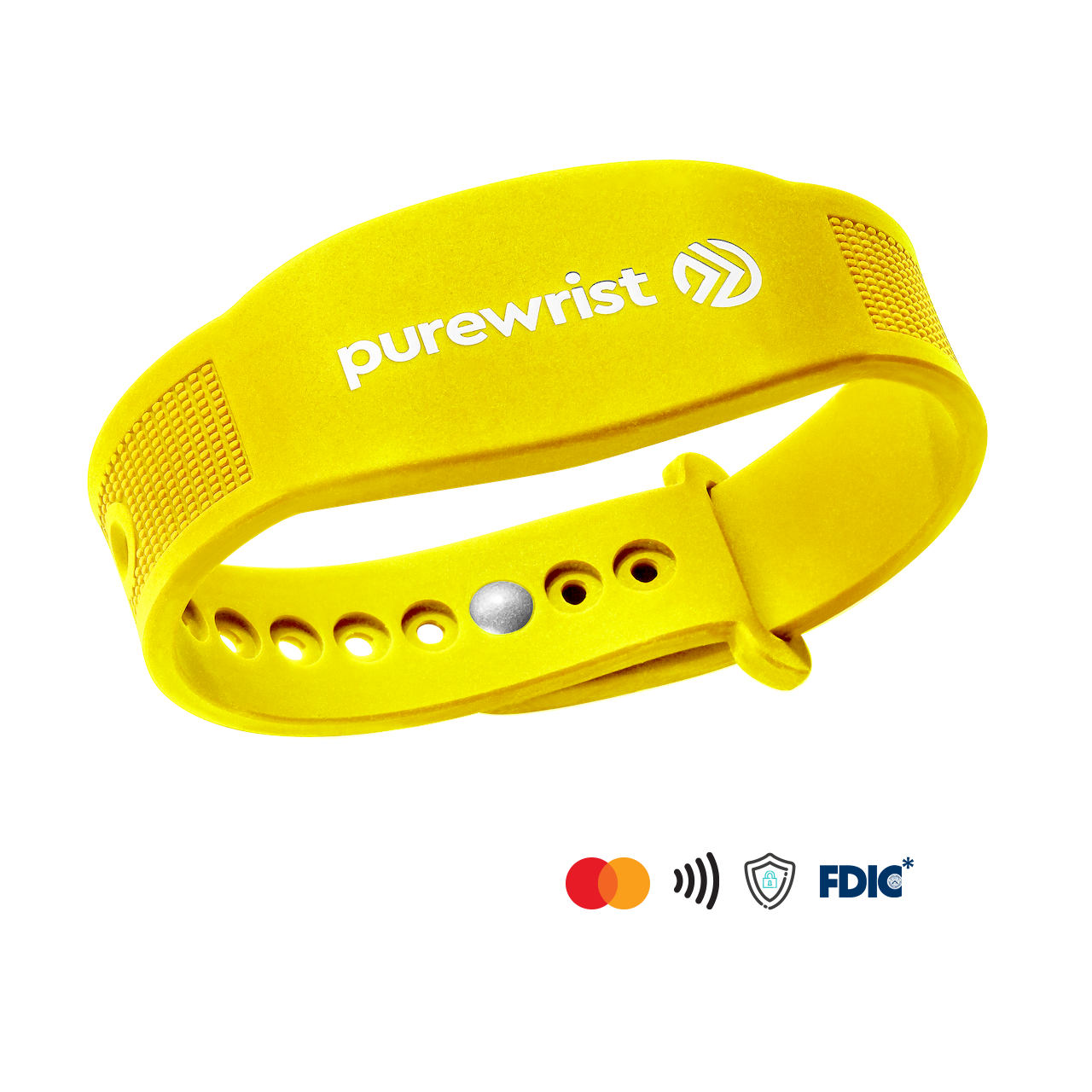 Purewrist GO Bracelet Bundle Yellow (Includes $10 Preloaded Money)