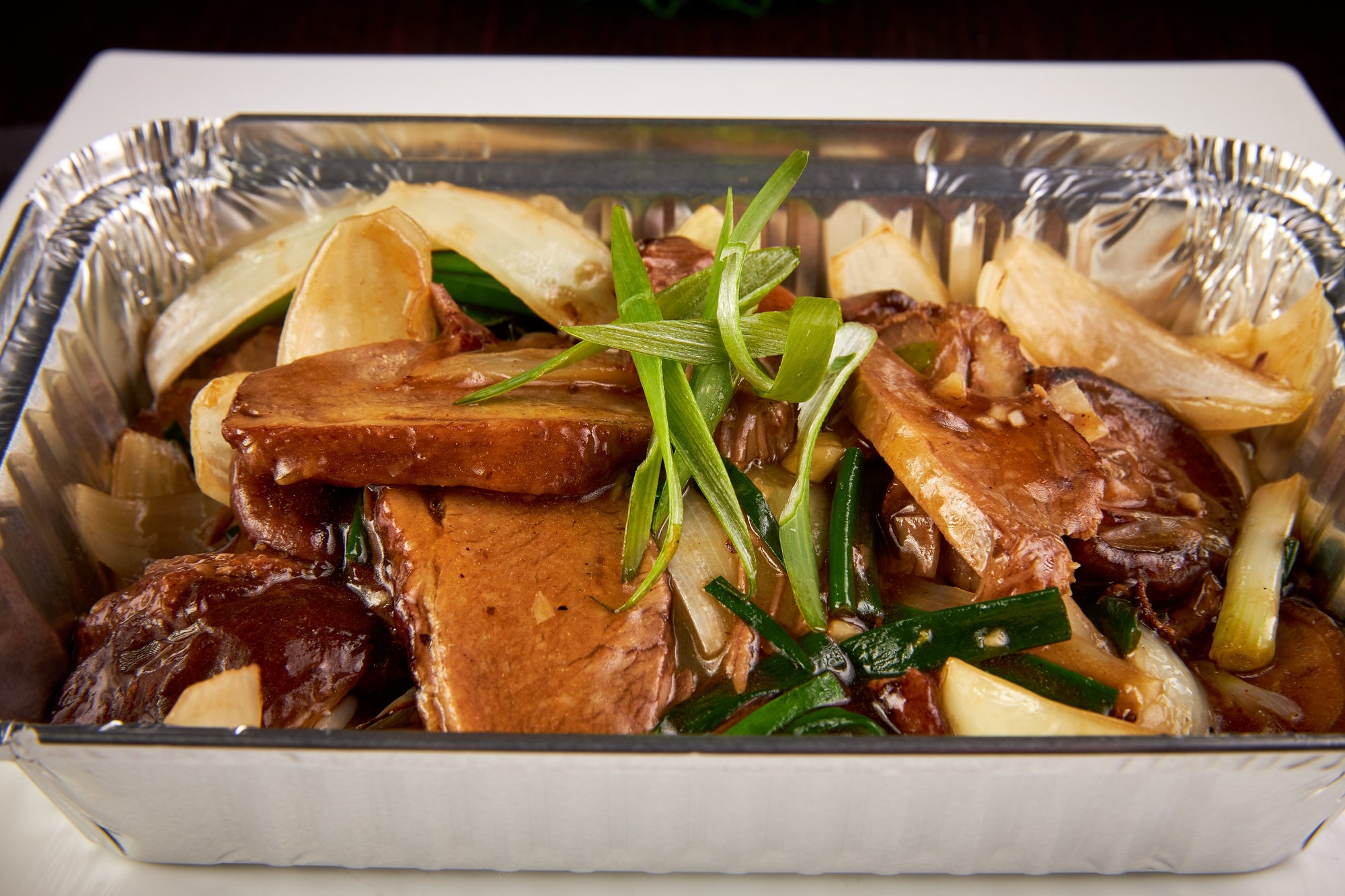 Stir fried Duck in Oyster Sauce