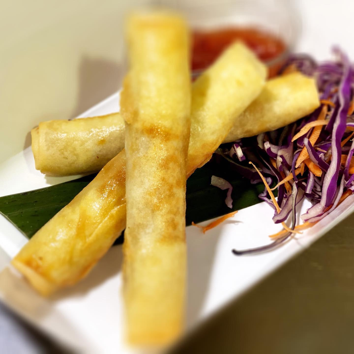 Authentic Vegetarian Spring Rolls
