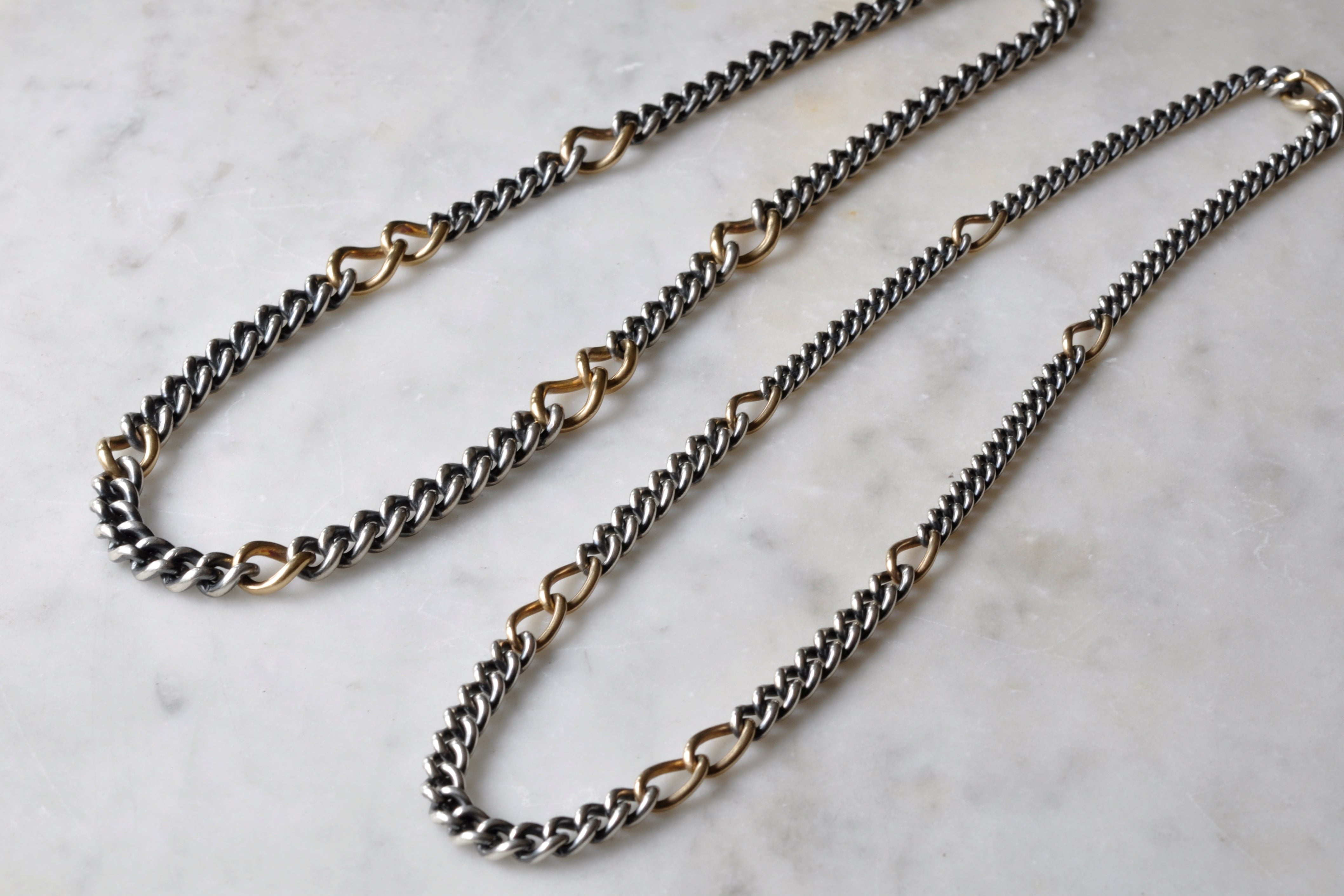 【受注生産】Humete Gradation Chain Necklace
