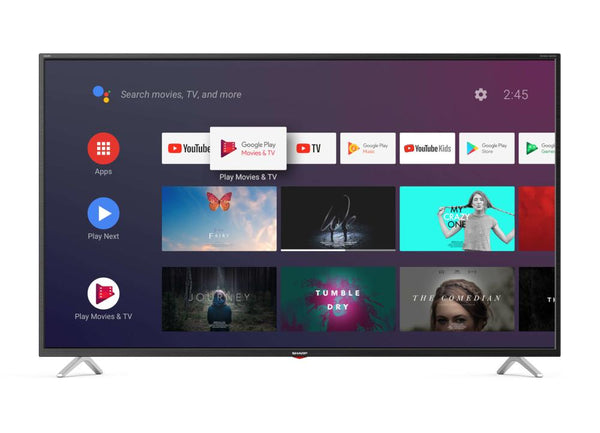Sharp 4T-C65BL5EF2AB Τηλεόραση 65'', Android, Smart UHD 4K - www.cchelectro.com