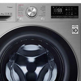 LG F4WV709P2T Πλυντήριο Ρούχων 9kg, Direct Drive, Turbo Wash, Steam, A+++(-40%) - www.cchelectro.com