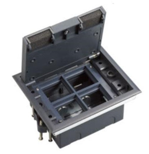 Spectra Perla Floor Mounted 4gang Open type Floor boxes - Tri Spectrum online