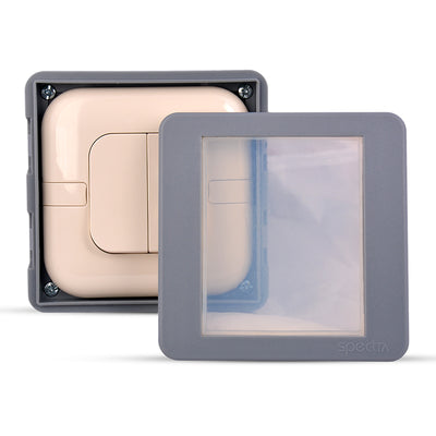 Spectra Perla Weather Proof Enclosures IP56 1gang for switch, wall mounted - Tri Spectrum online