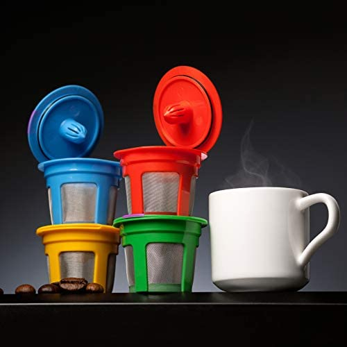 4 Reusable K Cups for Keurig