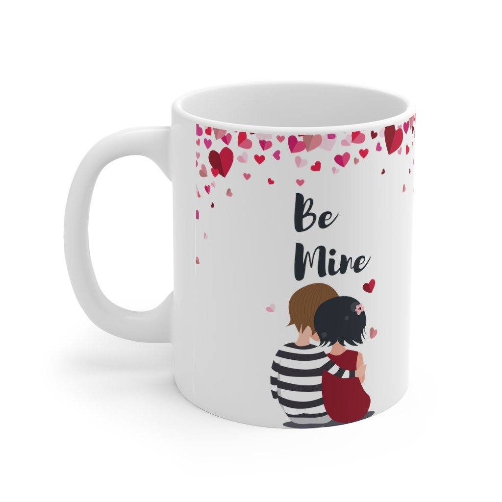 Be Mine Valentines Mug 11oz - Mahogany Queen
