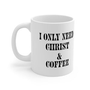 Christ and Coffee Mug - Mahogany Queen