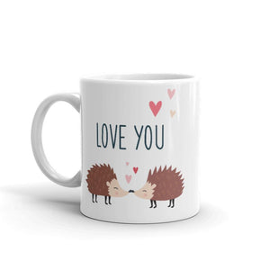 Hedgehog Love Mug - Mahogany Queen