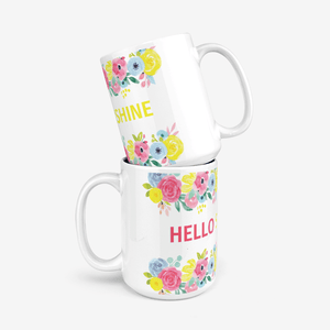 Hello Sunshine 11oz Mug - Mahogany Queen