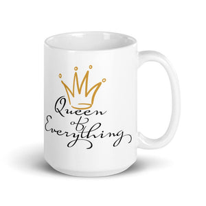 Queen of Everything Mug - Mahogany Queen