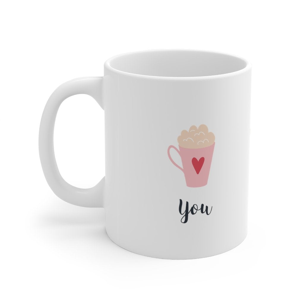 You & Me Sweetheart Mug 11oz - Mahogany Queen