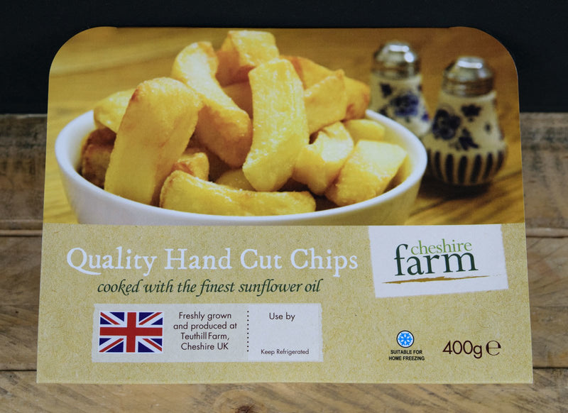 Quality Hand Cut Chips 400g - Birtwistles Catering Butchers