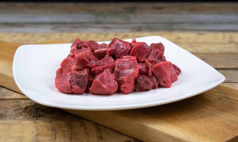 Diced Beef (500g pack) - Birtwistles Catering Butchers